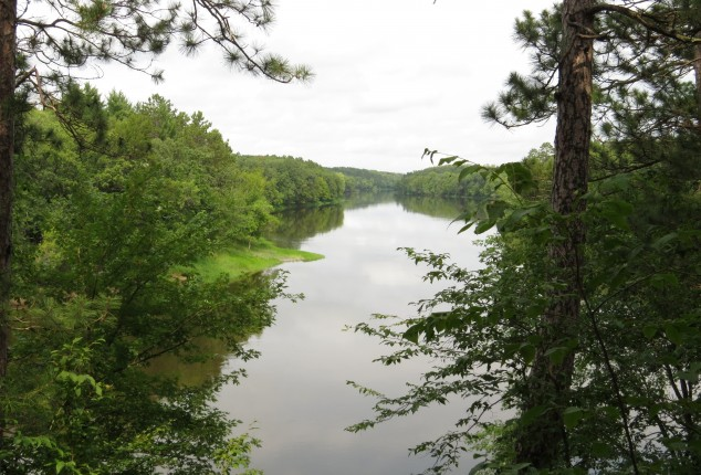 Mississippi River from Crow Wing State Park