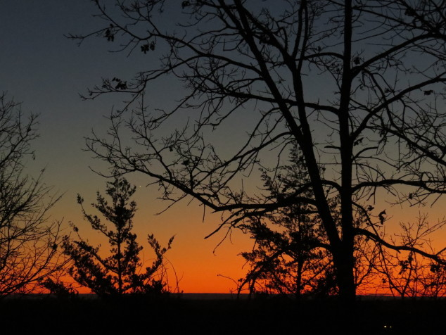 Sunset-New Year's Day 2015